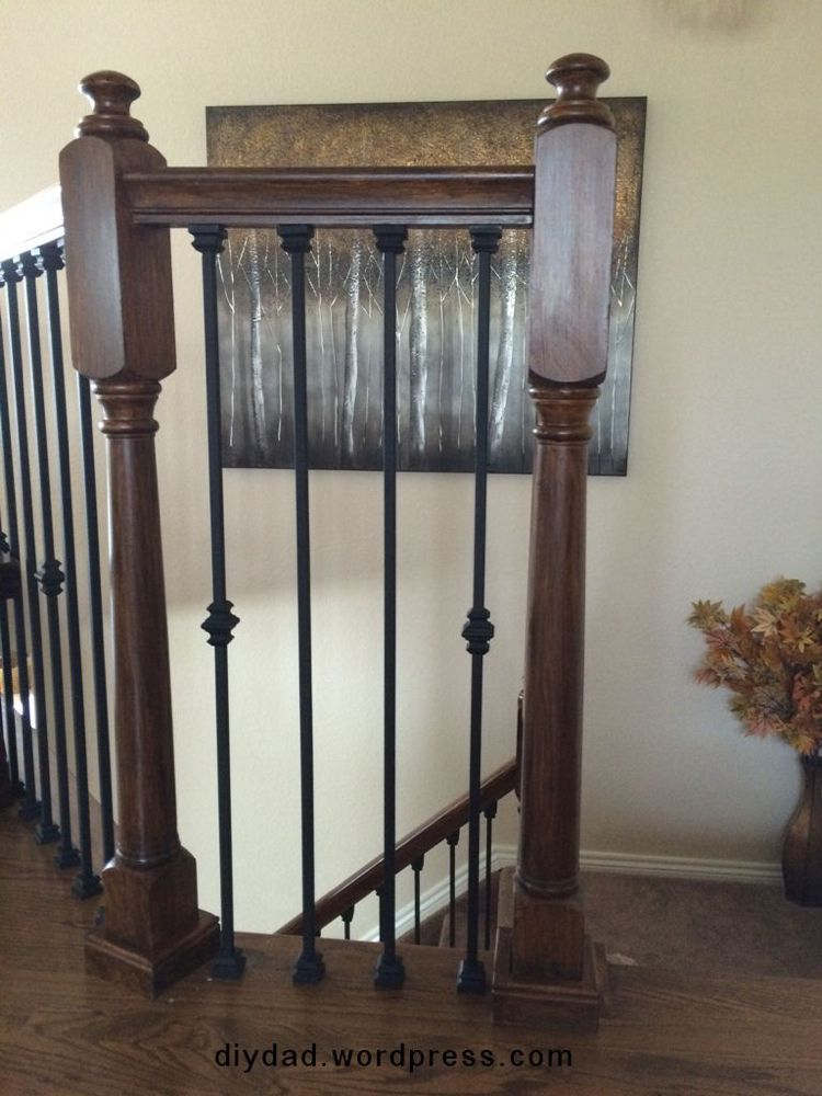 Best Replacing Wood Balusters With Wrought Iron Sort Of With 640 x 480
