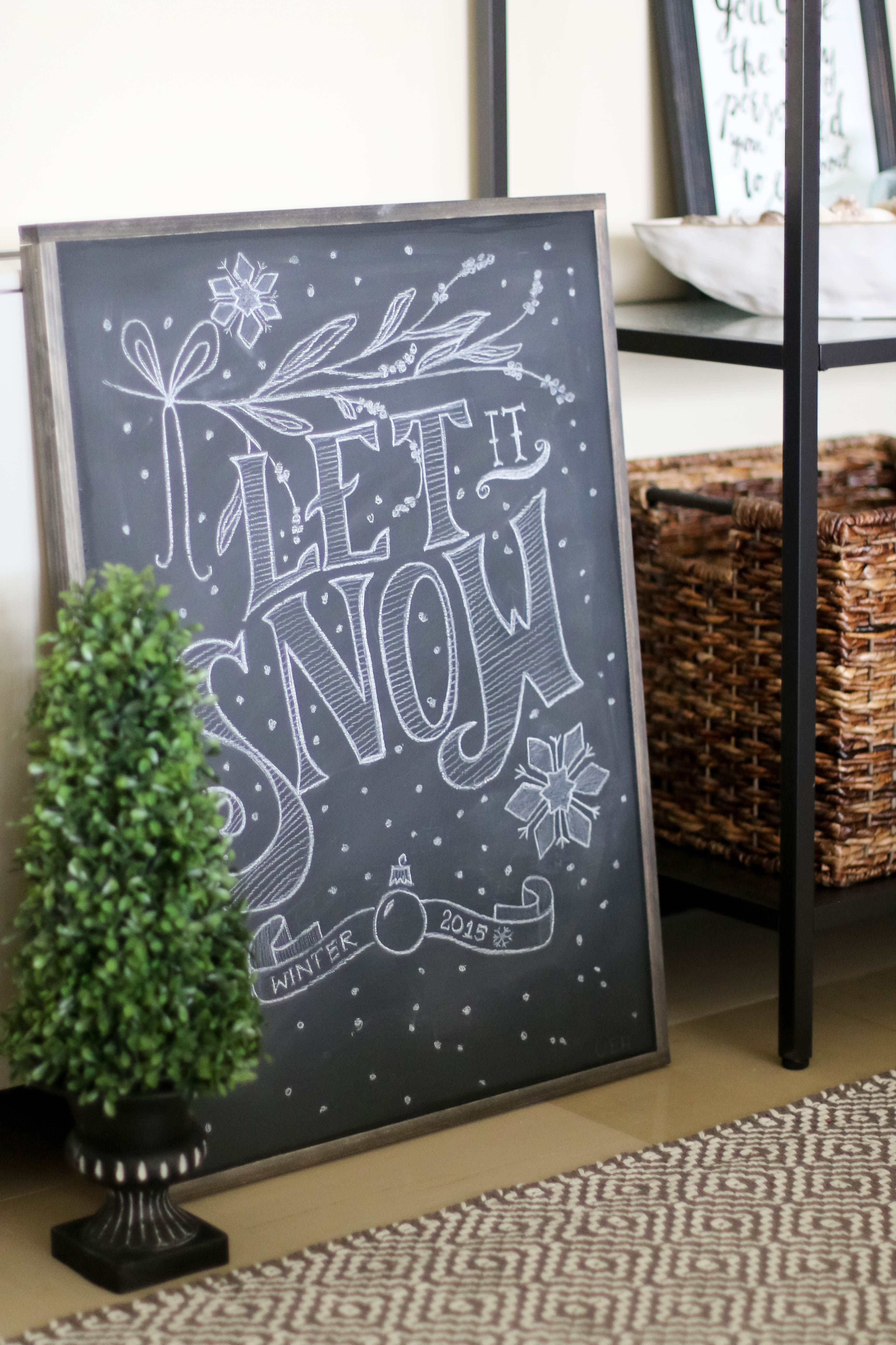 How To Make A Framed Chalkboard Tips For Great Chalk Art