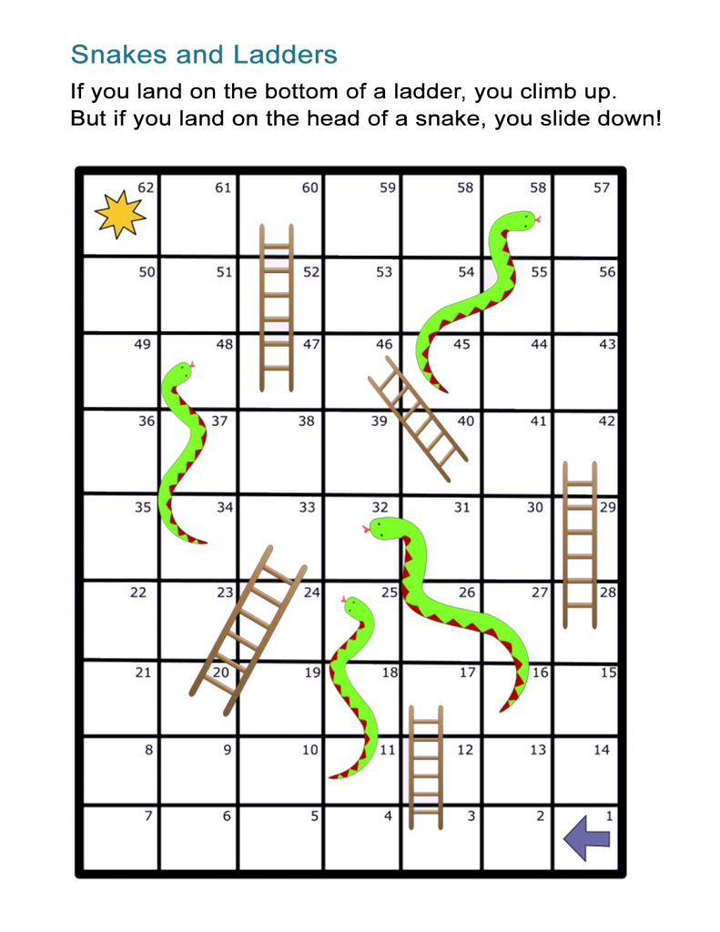 Printable Board Games Best Coloring Pages For Kids Snakes And Ladders Printable Board Games Fun Board Games