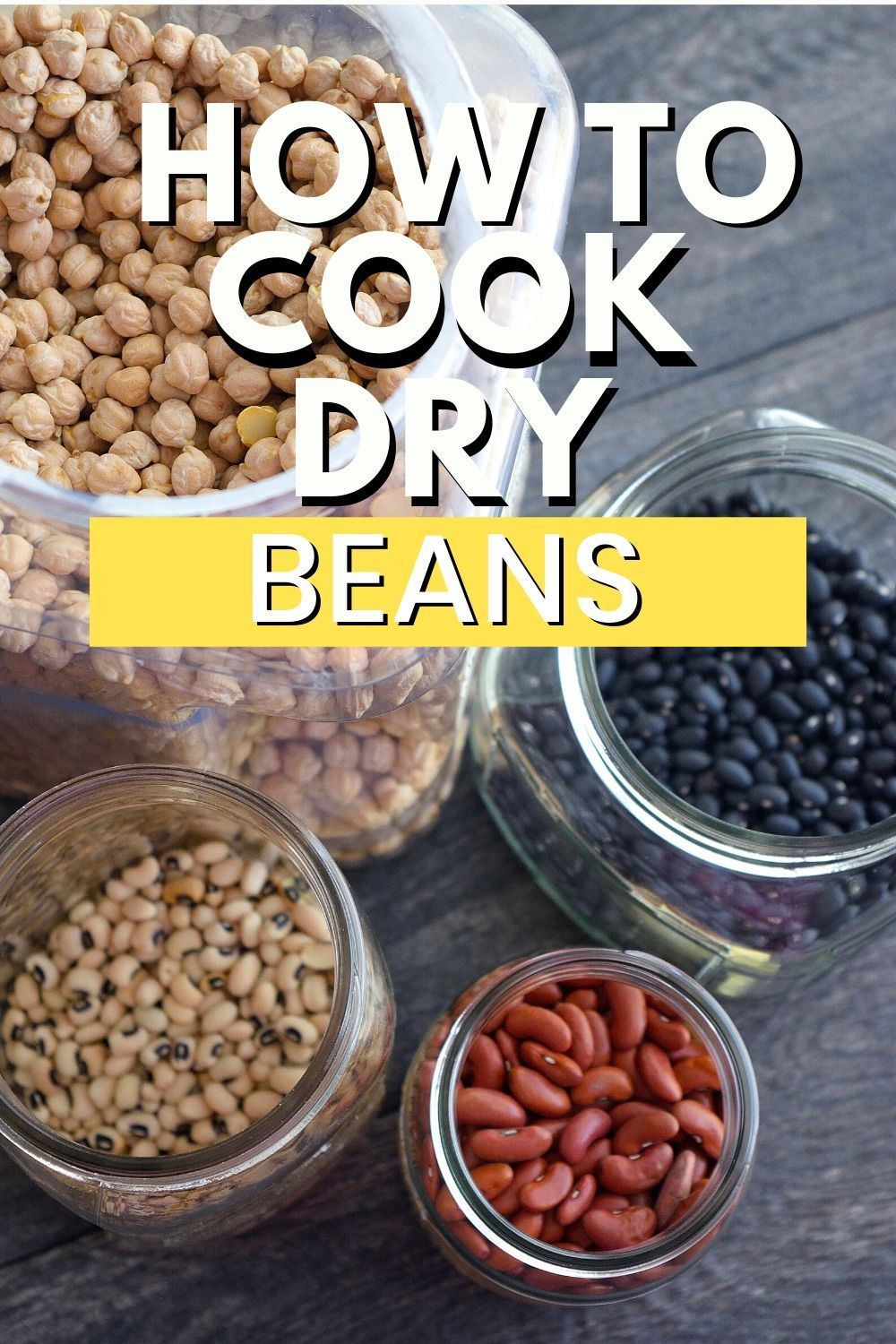 How to cook dry beans in 2020 dry beans cooking beans