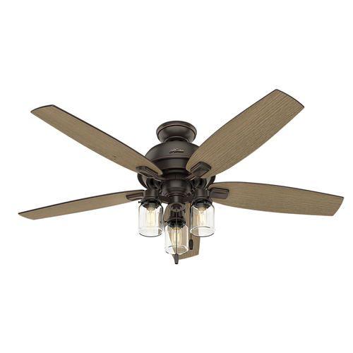Hunter auburndale 54 onyx bengal led ceiling fan at menards hunter auburndale 54 onyx bengal led ceiling fan at menards aloadofball Choice Image