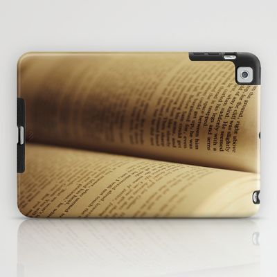 Book iPad Case by KimberosePhotography