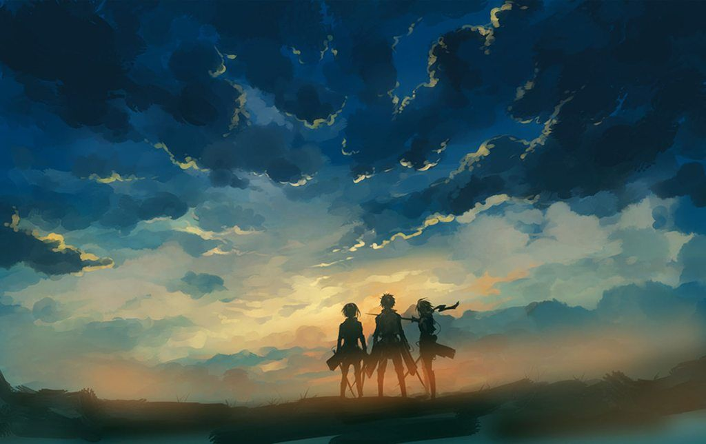 Subtle Anime Wallpapers Attack On Titan Anime Attack On Titan Art Titans Anime
