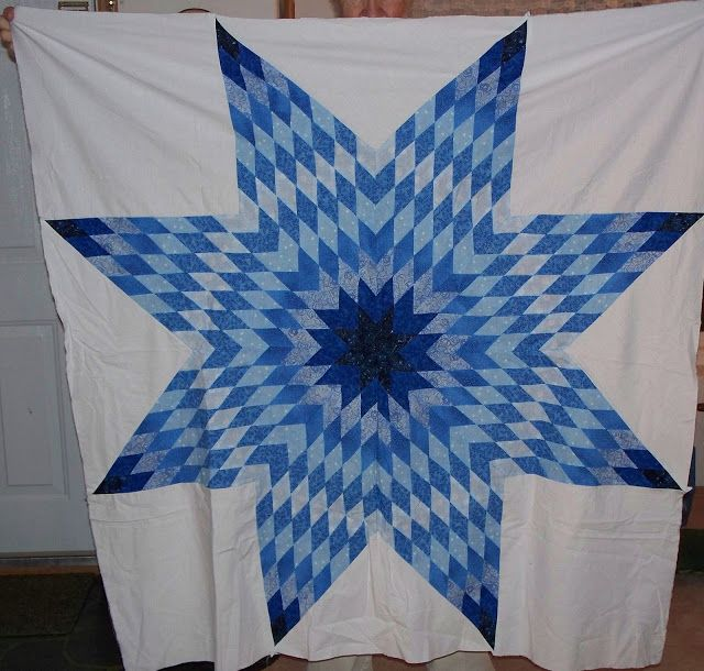 White And Blue Lone Star Quilts Google Search Lone Star Quilt Star Quilts Quilts