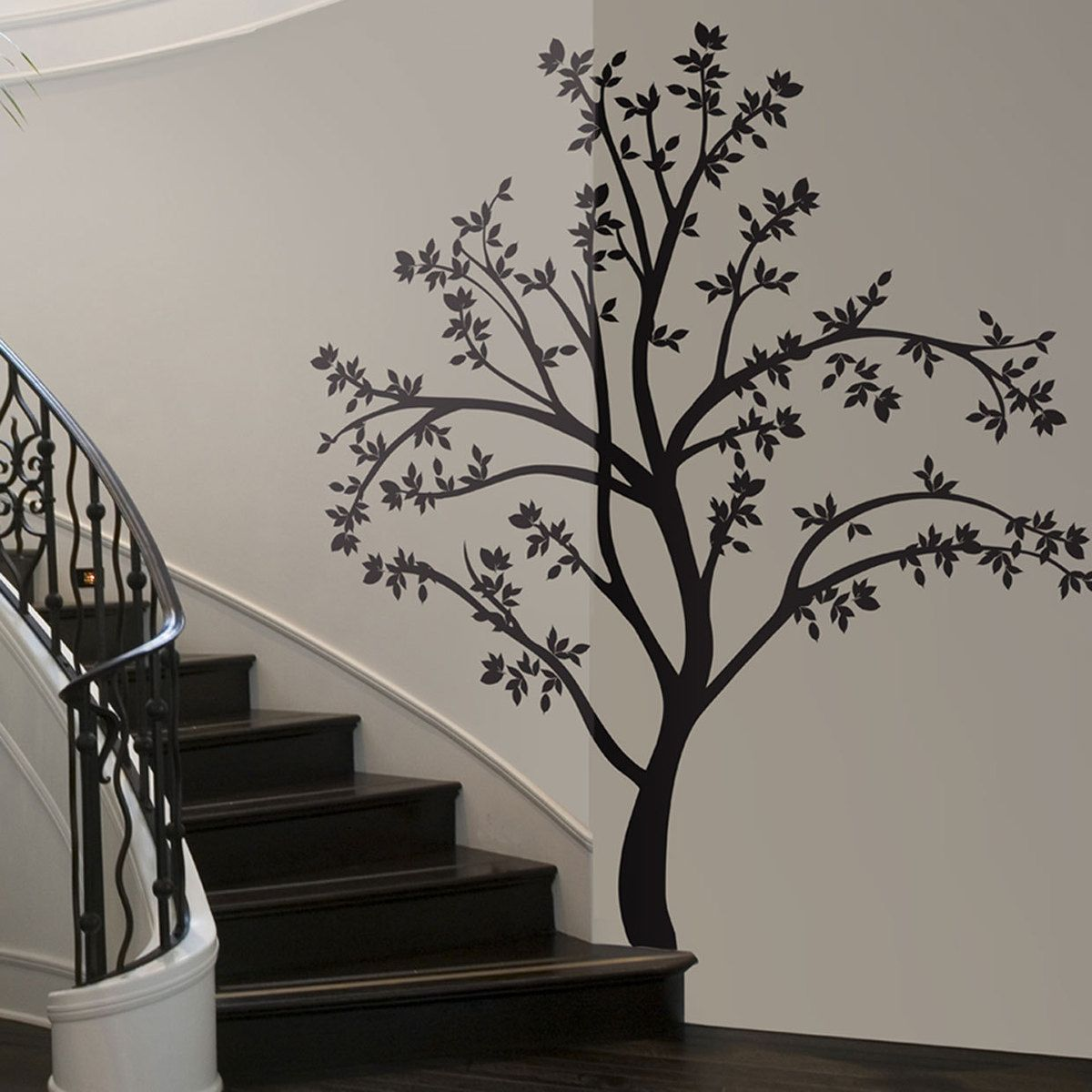 Fab Com Silhouette Tree Wall Decal Decorating