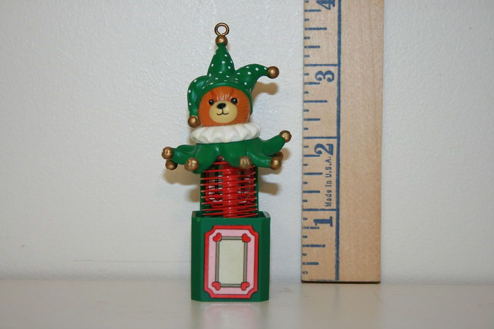 Enesco Ornament - Jester Bear - Lucy & Me - 1988