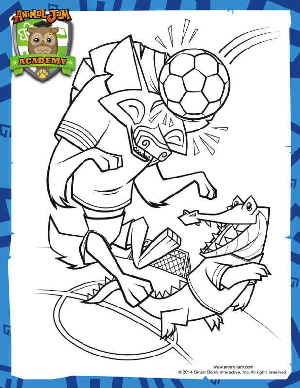 Printable Animal Jam Coloring Pages Zoo animal coloring