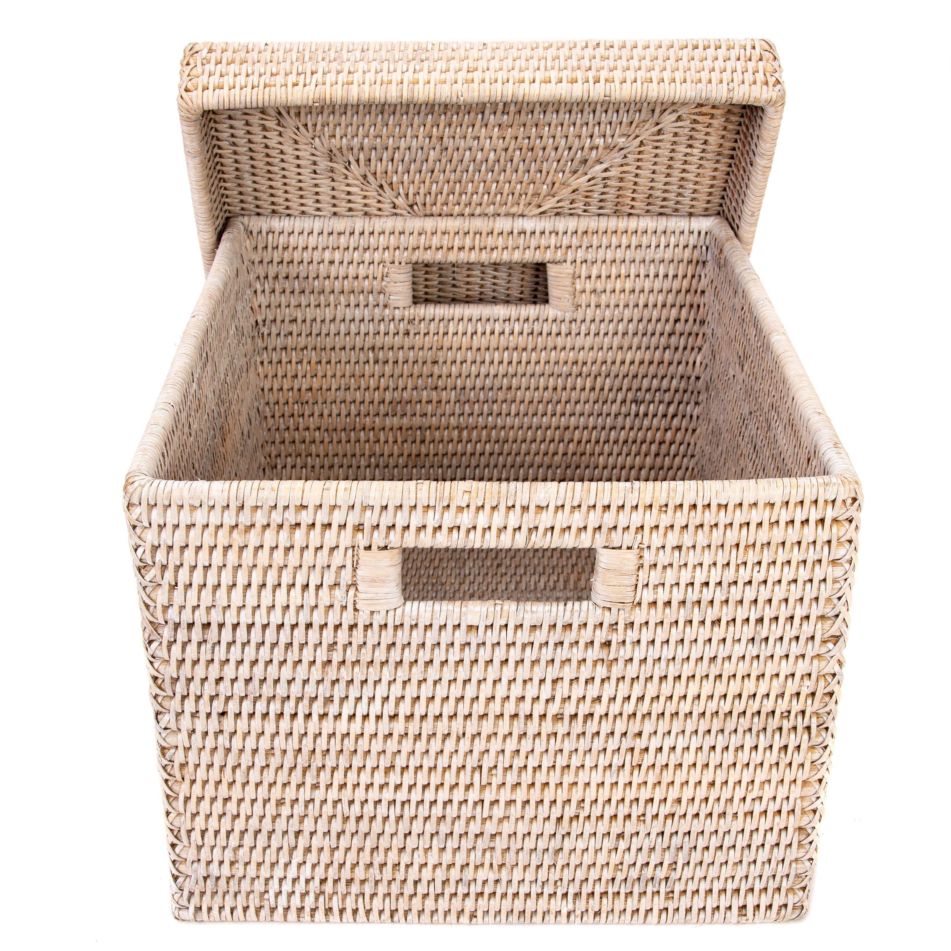 Storage Box with Lid (Letter File) - Tudor Black