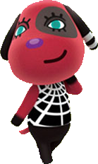 Cherry is my favorite dog villager because she shares my ...