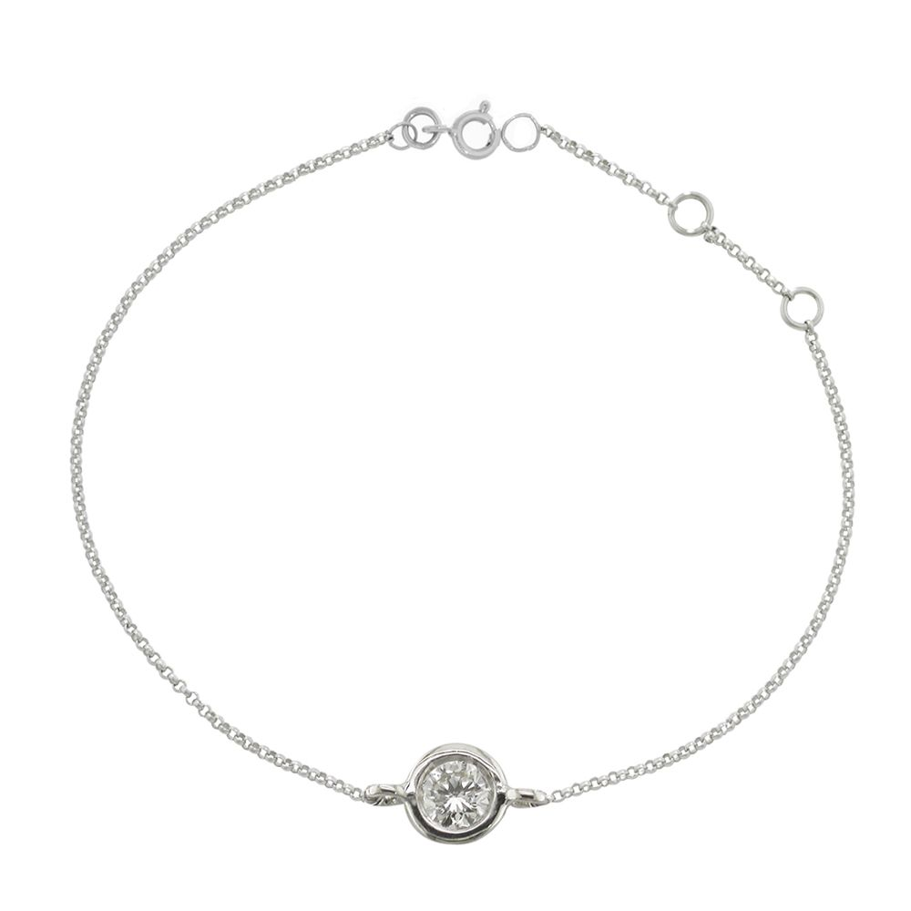chicco bracelet bezel zo d single products diamond