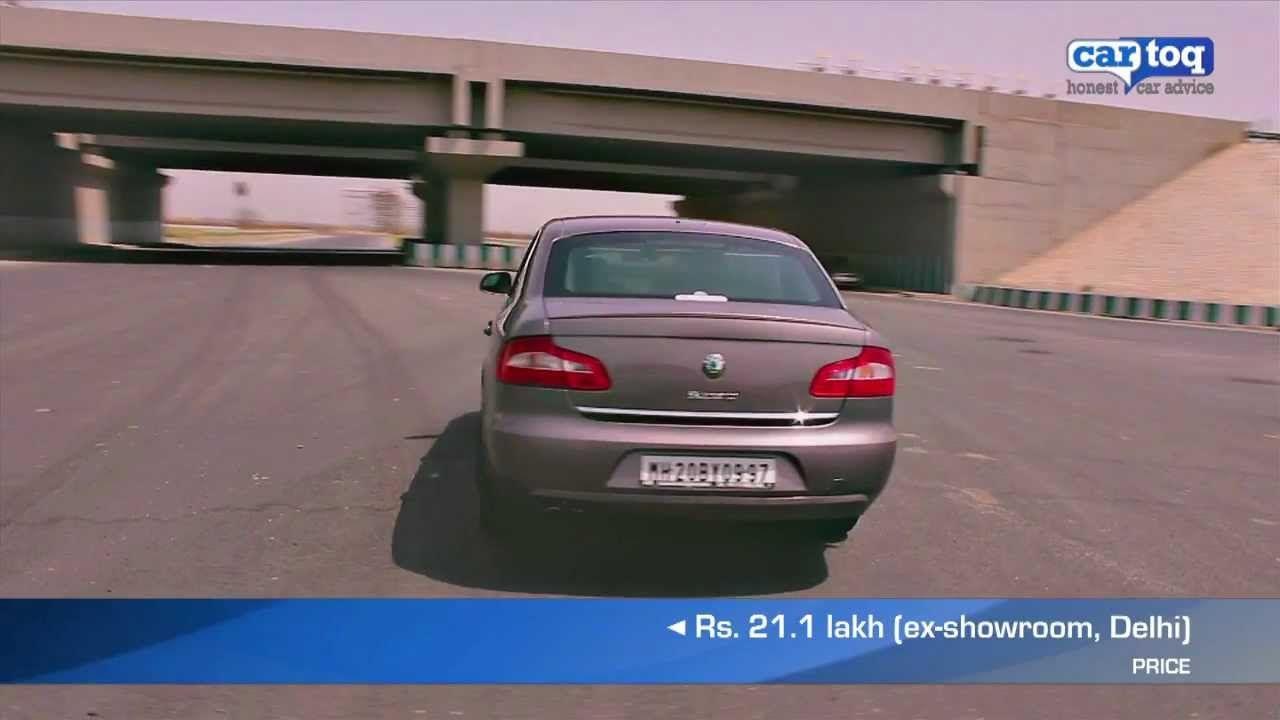 Skoda Superb 1 8 Tsi Dsg Video Review Luxury Cars In India