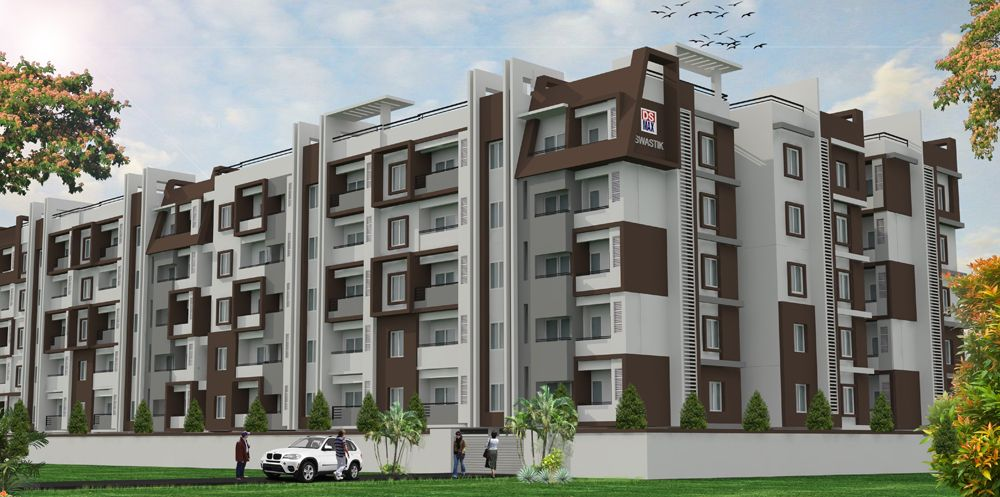 Buy 2 & 3 BHK Luxury Flats For Sale in DSMAX SWASTIK