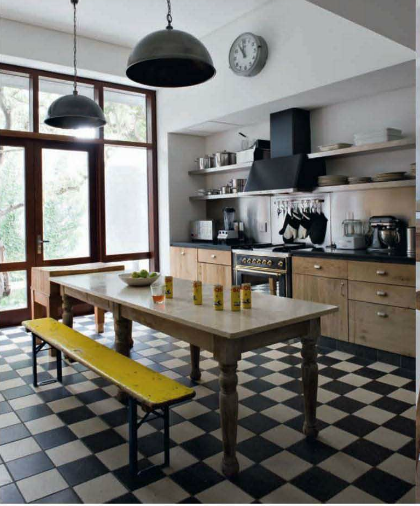 Wholesale Kitchen Cabinets Long Island Simple Kitchen With Checker Board Floor. Outside Box On