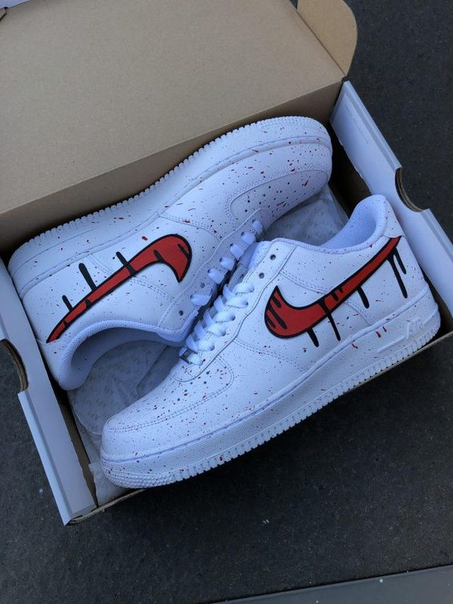 Dripping Forces in 2020 | Sneakers, Custom sneakers, Air