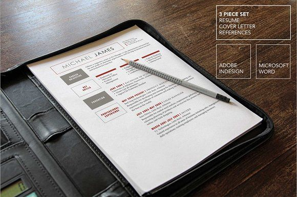 Bold Red Modern Resume Template by Scribbled Napkin Design on - modern resume tips