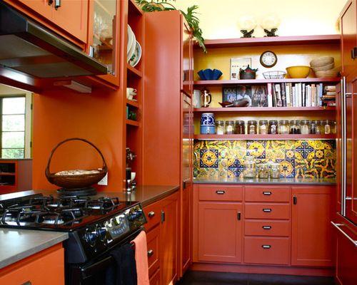 Rustic Mexican Kitchen Home Design Photos