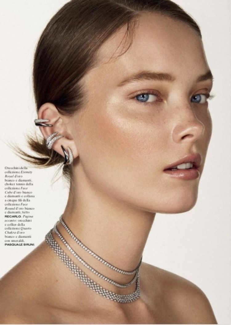 Photo of Fine Jewelry editorial: Mildred Gustafsson captured by Mario Gomez for Vanity Fa…,  #captur…