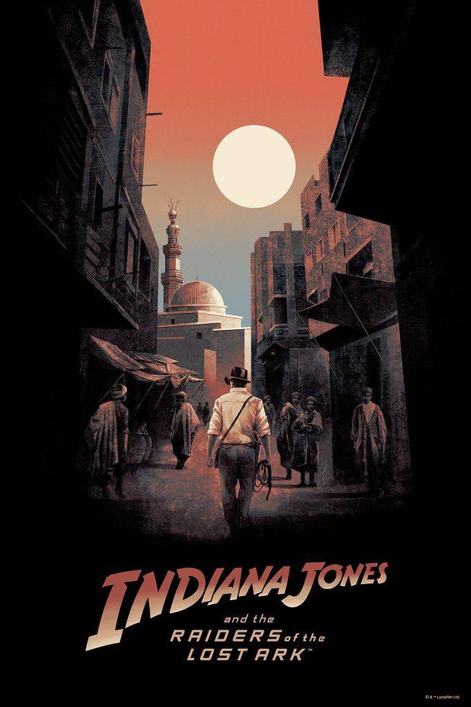 f13f4e60 Striking Indiana Jones Poster From Bottleneck Gallery | Art Projects ...