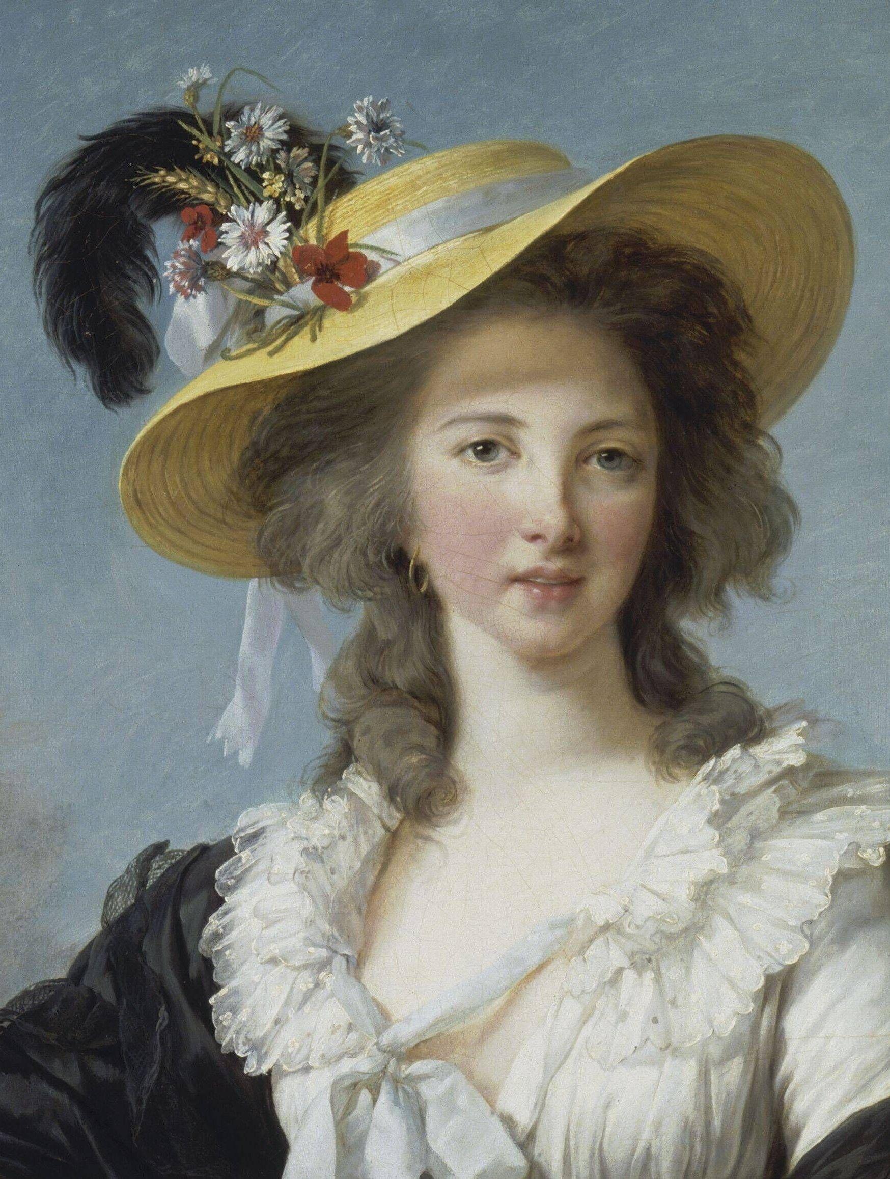 Portrait of Yolande de Polastron 7e2e5c33f352