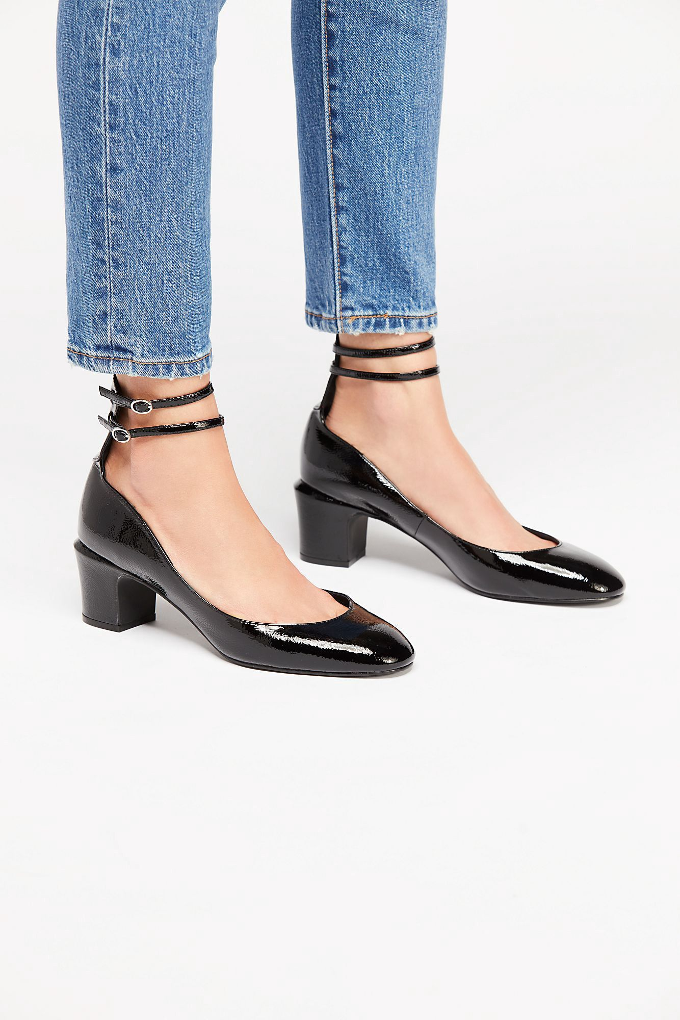 aa63cccf1a7 Free People Lana Block Heel - Silver Mirror 36 Euro | Products ...