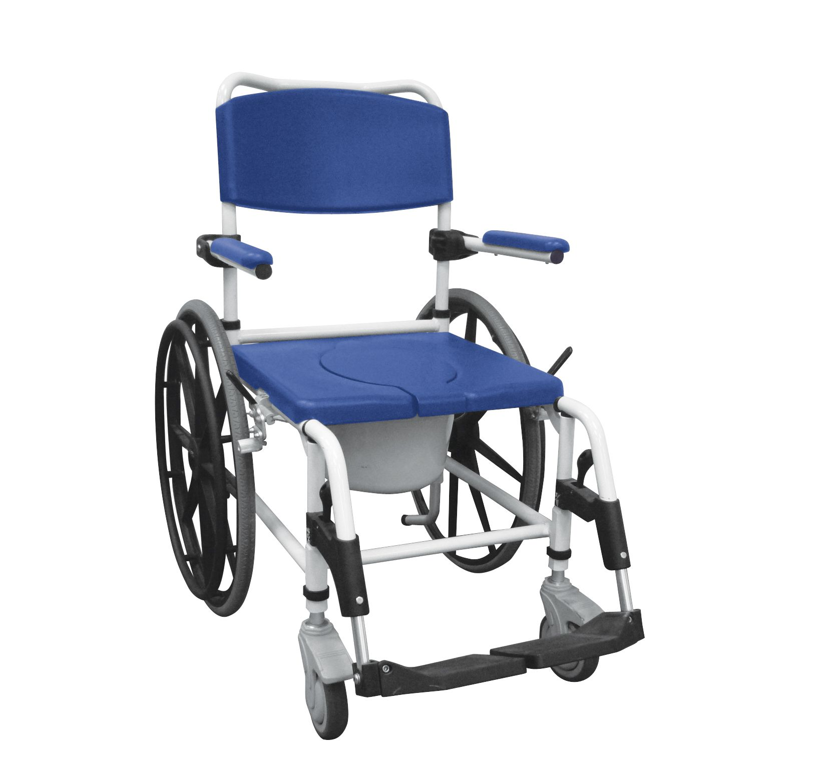 Duschstuhl Auf Rädern Shower commode chair, Commode