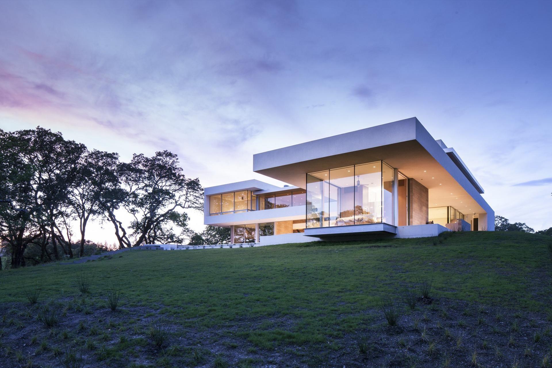 Traumhaus glashaus zeitgenössischen häuser moderne häuser moderne architektur modernes design weinberg haus design fassadengestaltung