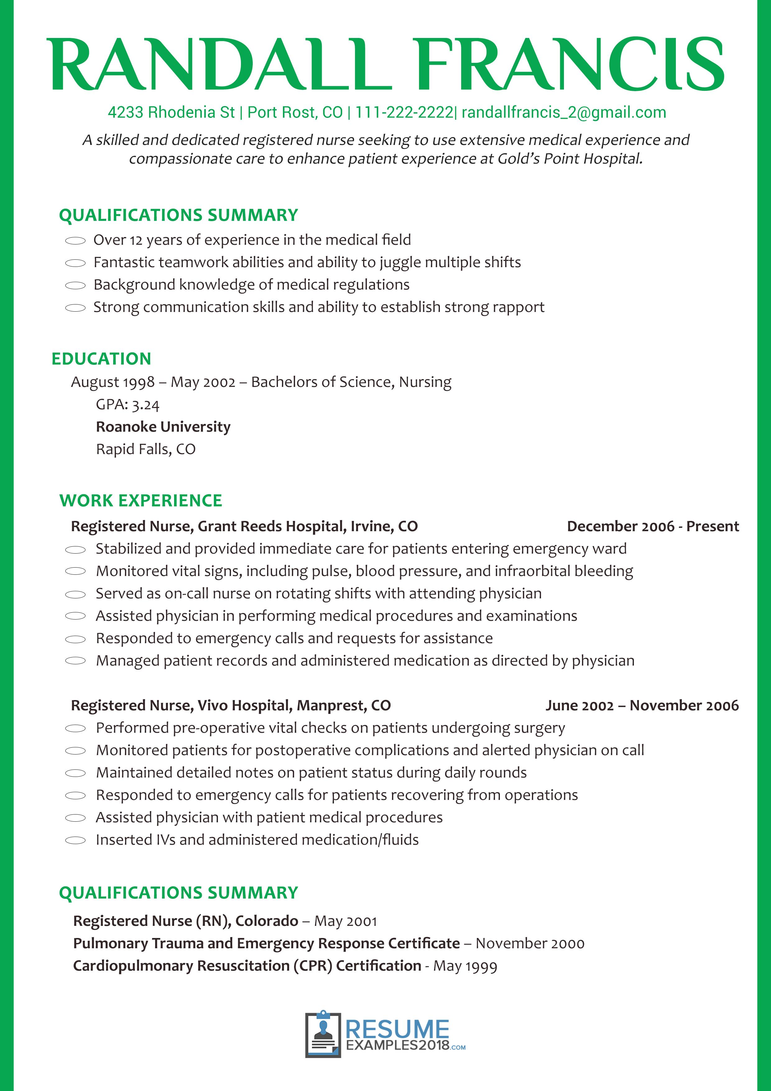 Basic Resume Examples 2018 48