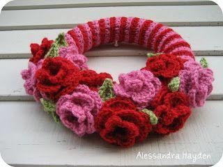 Photo of Just be happy !: Free pattern: crochet wreath