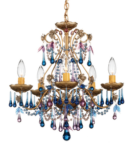 Schoenbeck sample sale angersteins lighting lighting inspired schonbek rose blue violet chandelier i also like the opal rose whimsical eleganceis beautiful work of art would be the cherry on top of my dream home aloadofball Gallery