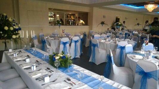 Jdahire Wedding Decorations Royal Blue Theme Wedding