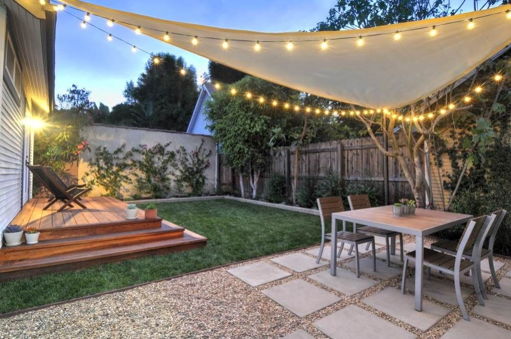 Small backyard hill landscaping ideas to get cool backyard for Cool outdoor patio ideas
