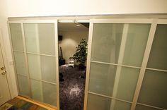 ikea divisori per ambienti parete di foto - 5 | tende | Sliding door ...