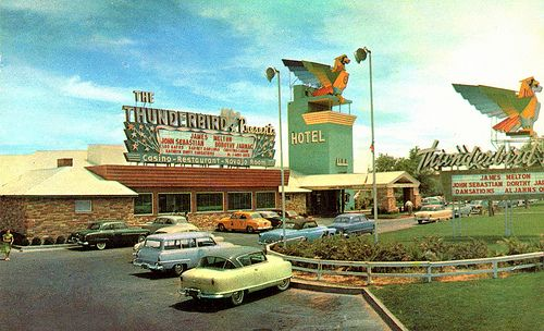 Thunderbird Hotel Las Vegas Nevada Las Vegas Motel Las Vegas