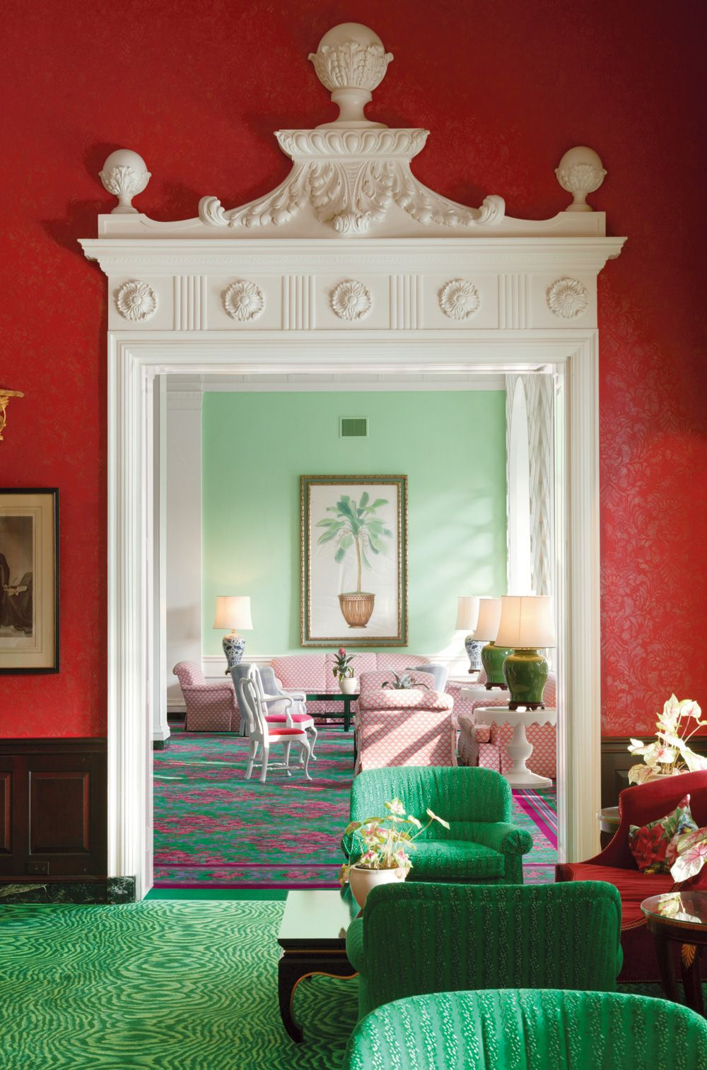 Inside 1930s Designer Dorothy Draper S Riotously Colorful World  # Timothy Hutton Muebles