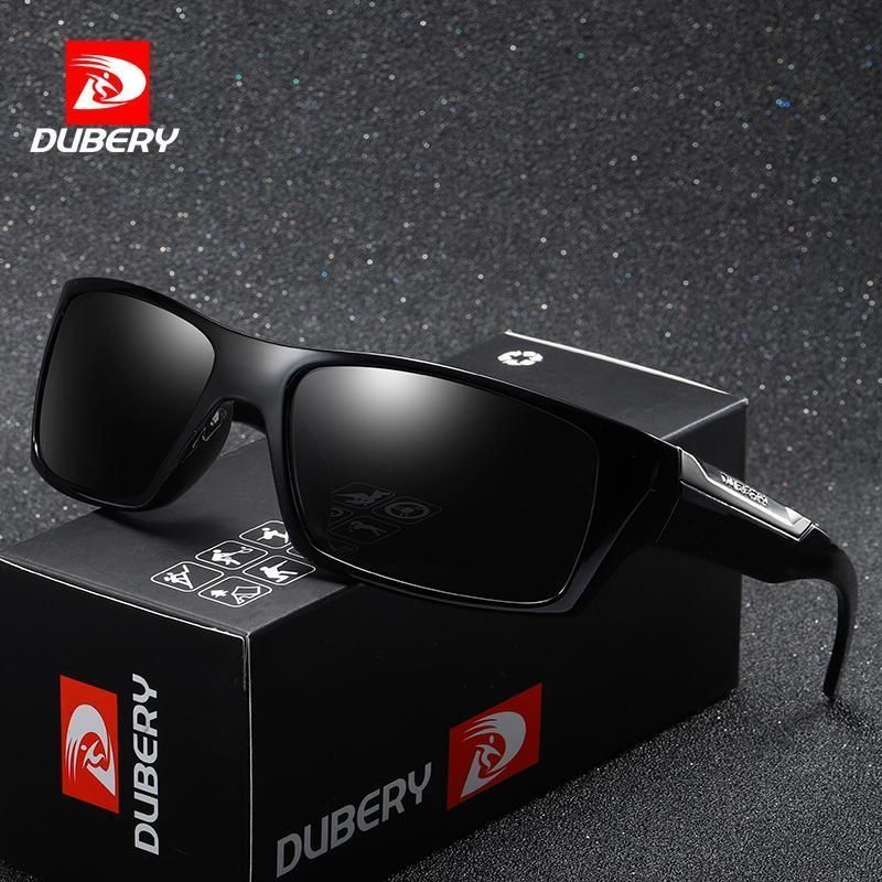 00c61873b17 DUBERY Brand Design Polarized Sunglasses Men Driving Shades Male Retro Sun  Glass