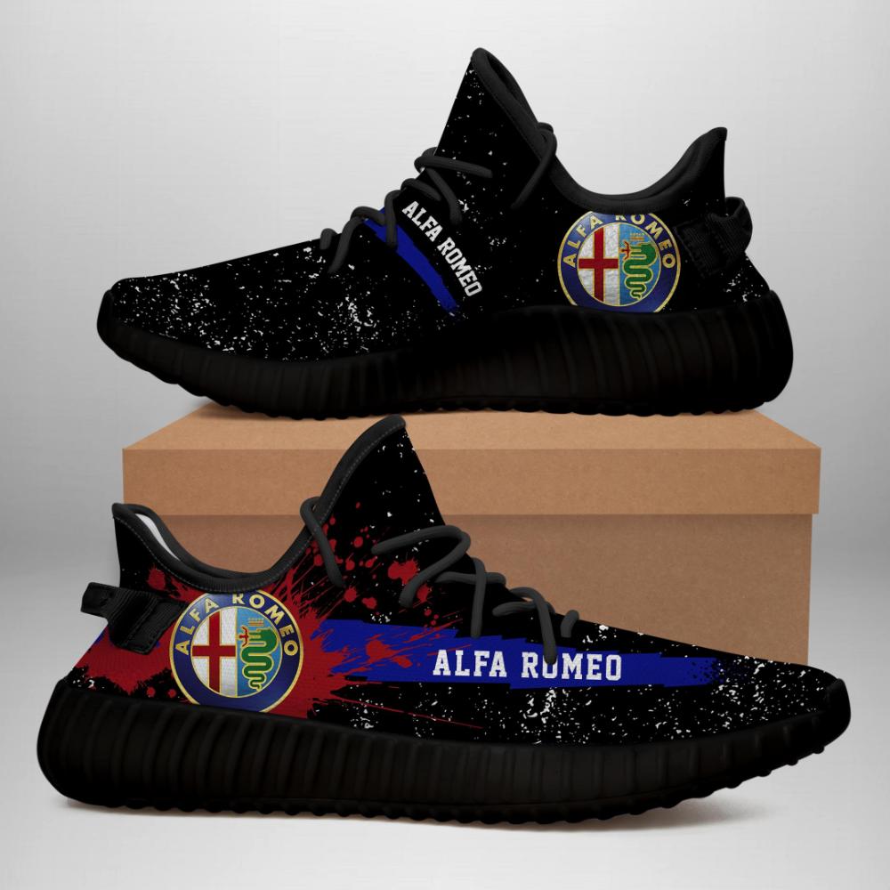 Alfa Romeo Limited Edition Black Yeezy Sneaker - Mononus   Leather ...