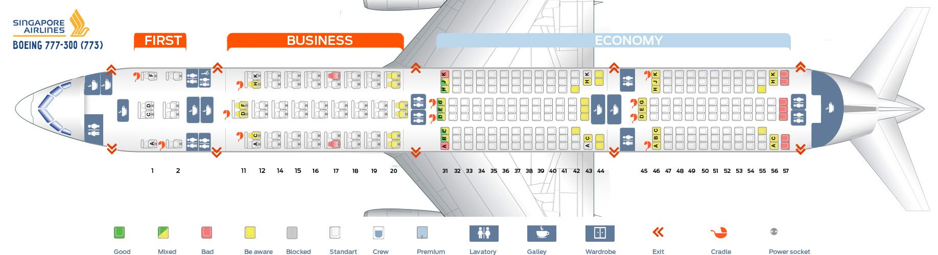 Singapore Airlines Fleet Boeing 777 300 Details And Pictures