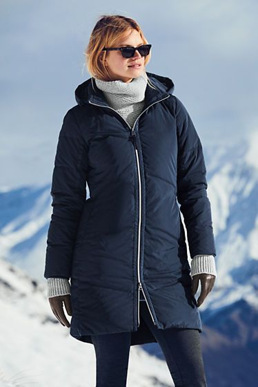 f4e675079 Women's Won't Let You Down Coat from Lands' End | Gift ideas | Down ...