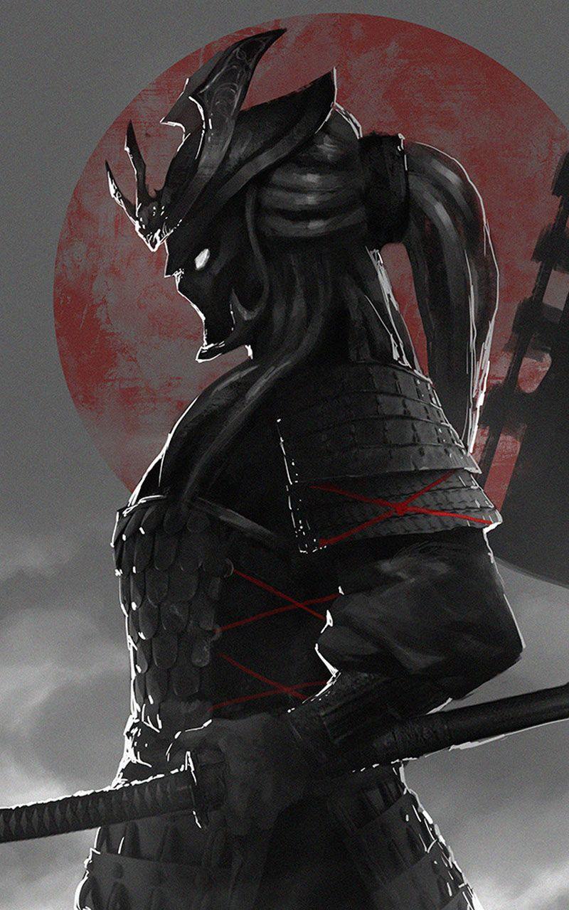 Warrior Princess In 2020 Samurai Artwork Female Samurai Warriors Wallpaper