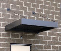 Flat Metal Awnings Canopies St Louis