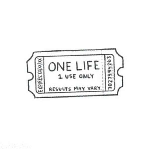 One Life: Make The Life-Long Journey Worth It.