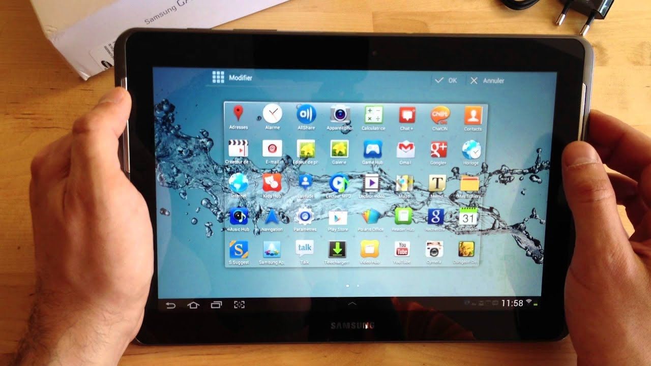 Pin Op Tablette