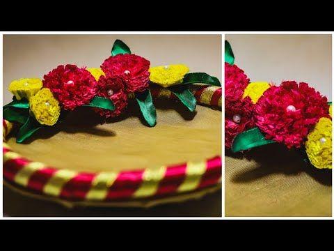 DIY Wedding Trays (Thali) Decoration #Diy #Handmade #decorationideas #kalpanasaranam - YouTube