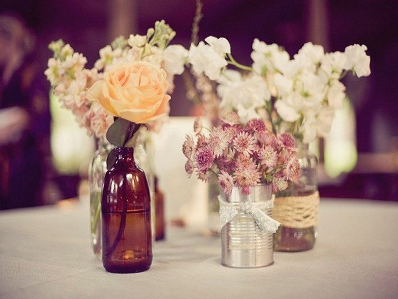 Wedding decoration ideas centerpieces   Cheap and Inspiring Rustic Wedding Decorations Ideas on a Budget