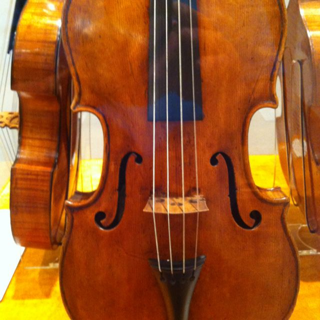 Nicola Bergonzi viola, 1781 | National Music Museum | Violin