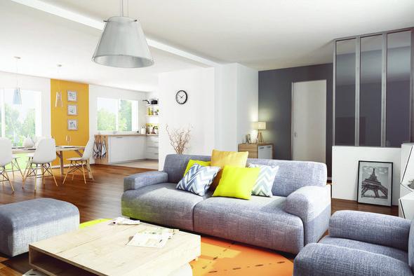 Modèle de maison Plain-Pied 3 ch ac Suite -  Retrouvez tous les
