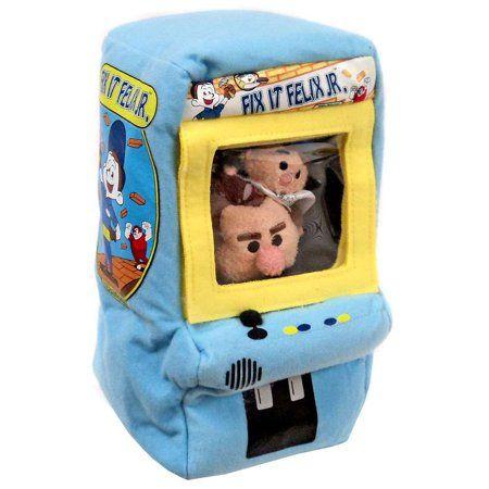 Disney Tsum Tsum Fix It Felix Jr. & Ralph Plush Se