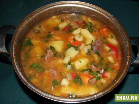 соус с картошкой и говядиной рецепт с фото