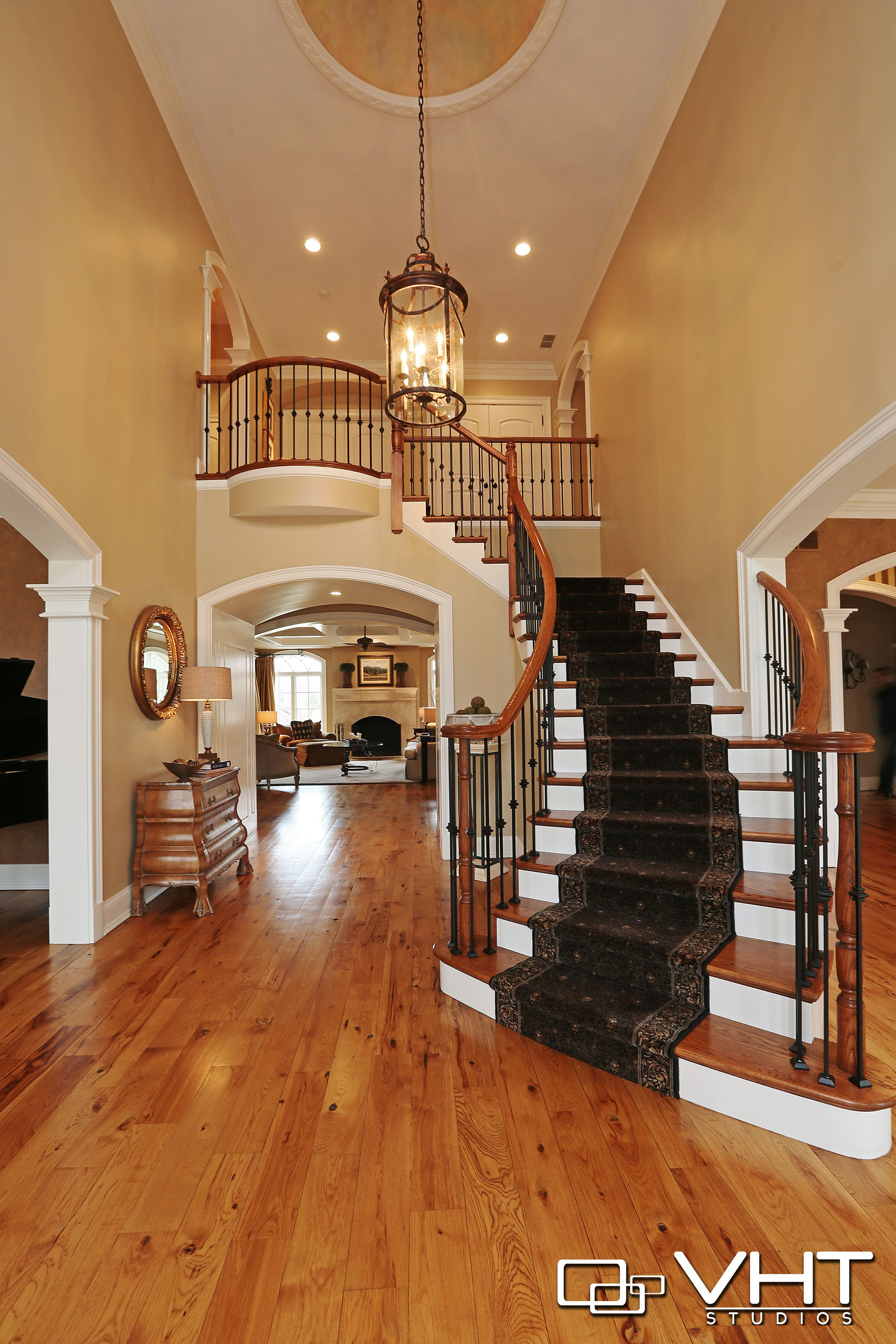 Grand Staircase Photo By Vht Studios Luxury Staircase