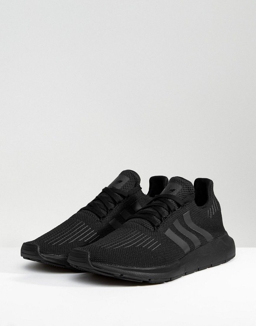 the cheapest latest best supplier adidas Originals Swift Run Sneakers In Black CG4111 - Black ...